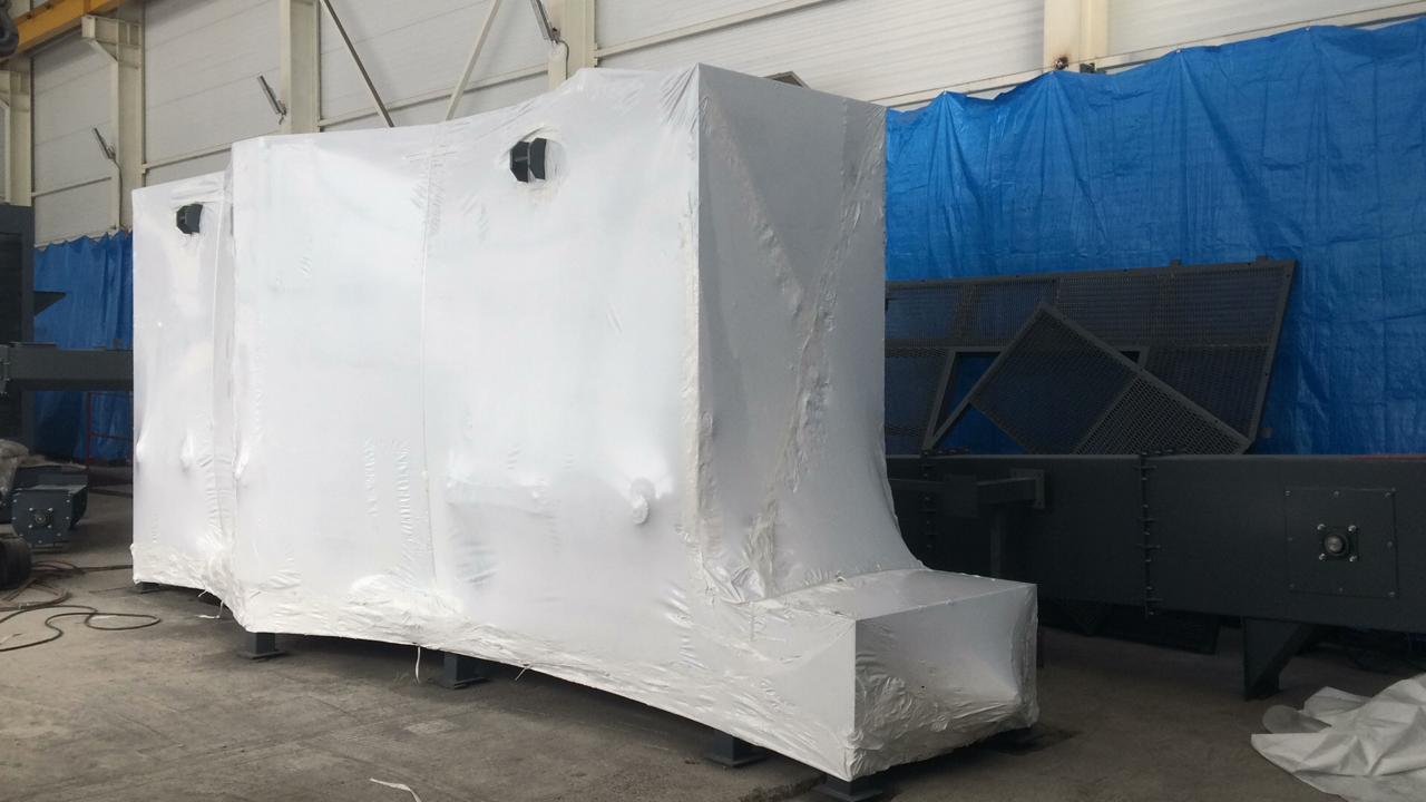 Подготовлена к отправке дробеметная установка ДУ.8015