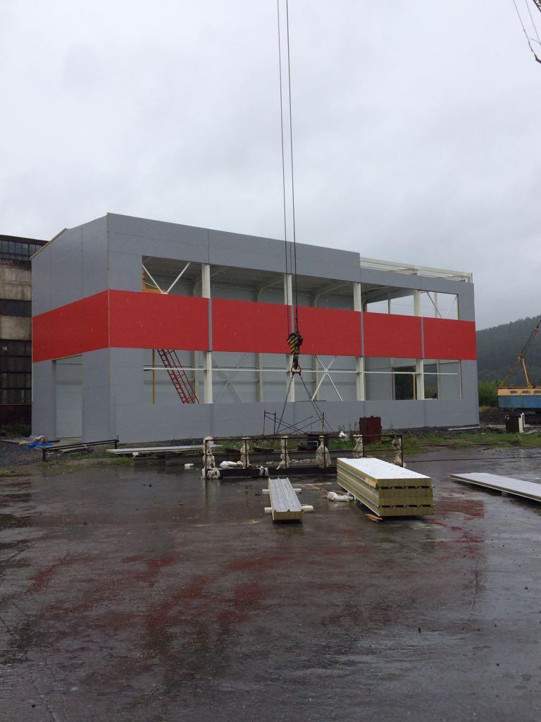 Новый сборочный цех Дробеметных установок Ду.1020 готовится к сдаче